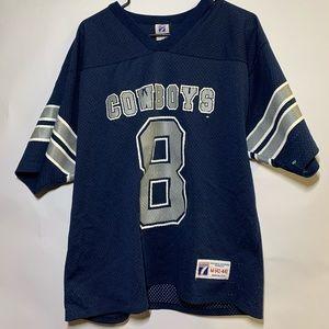 Vintage 90's Logo 7 Dallas Cowboys NFL Jersey #8